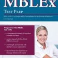 MBLEx Test Prep 2019-2020: 3 Full-Length MBLEx Practice Exams for the Massage & Bodywork Licensing Exam by Ascencia Massage Therapy Exam Team Cover Photo