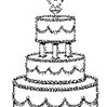 Wedding Journal Wedding Cake Sketch: (Notebook, Diary, Blank Book) by Distinctive Journals Cover Photo