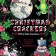 Christmas Crackers: A Pun-NY Adult Christmas Colouring Book! by Tammara Wright Cover Photo