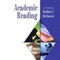 Academic Reading by Kathleen T. McWhorter Cover Photo