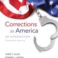 Corrections in America: An Introduction Plus MyCJLab with Pearson eText -- Access Card Package by Harry E. Allen,Edward J. Latessa,Bruce S. Ponder Cover Photo